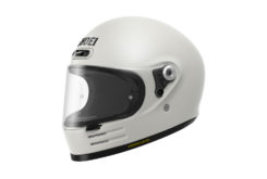Shoei glamster casco moto blanco