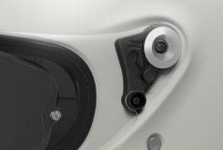 Shoei glamster casco moto mecanismo visera pantalla