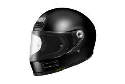 Shoei glamster casco moto negro
