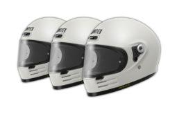 Shoei glamster casco moto tallas calota