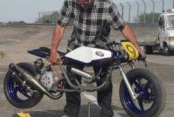 Super scooter moto 2T anx prototype