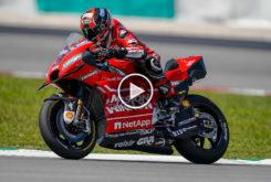 Video Test Ducati GP20 holeshot andrea dovizioso Sepang MotoGP