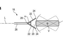 Bikeleaks BMW patente receptor impacto rueda delantera