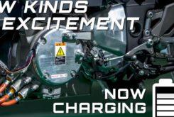 Kawasaki EV Endeavor moto electrica marchas
