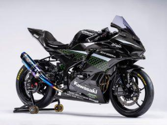 Kawasaki ZX 25R full carbono black
