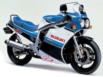 Suzuki GSX R750 1986
