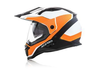 Acerbis Reactive Graffix naranja perfil