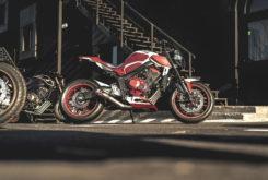 Honda CB650R 2020 Esteban Parres 11
