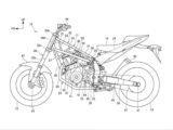Honda deauville NT1000V 2021 patente filtrada copia