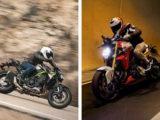 Kawasaki Z900 vs BMW F900R