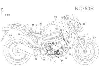 Honda NC750 nuevo motor
