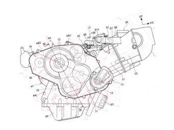 Honda NC850S motor
