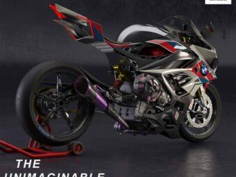 BMW M 1000 RR concept booster electrico