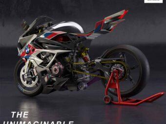 BMW M 1000 RR concept electrico