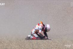 Caida Marc Marquez GP Jerez 202032