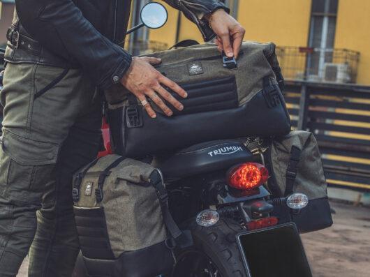 Mendicidad espina Galaxia  Kappa Rambler Range: nueva línea retro de bolsas blandas de equipaje para  moto - Motorbike Magazine