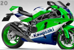 Kawasaki ZXR 750 2021 turbo