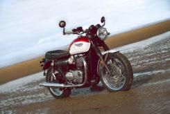 Triumph T100 Bud Ekins Cruz Roja (1)