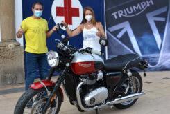 Triumph T100 Bud Ekins Cruz Roja (4)