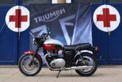 Triumph T100 Bud Ekins Cruz Roja (7)