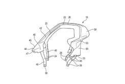 BMW C1 2021 patentes filtradas 2