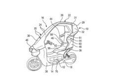 BMW C1 2021 patentes filtradas 3