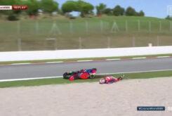 Caida Alvaro Bautista Highside Honda WSBK Cataluña18