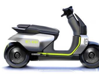 Husqvarna E 01 scooter