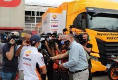 Marc Marquez regreso paddock MotoGP Montmelo (14)