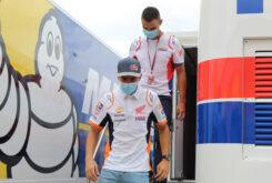 Marc Marquez regreso paddock MotoGP Montmelo (18)