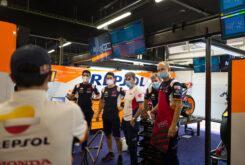 Marc Marquez regreso paddock MotoGP Montmelo (2)