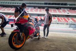 Marc Marquez regreso paddock MotoGP Montmelo (5)