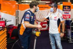 Marc Marquez regreso paddock MotoGP Montmelo (6)