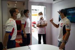 Marc Marquez regreso paddock MotoGP Montmelo (7)