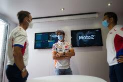 Marc Marquez regreso paddock MotoGP Montmelo (8)
