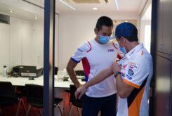 Marc Marquez regreso paddock MotoGP Montmelo (9)