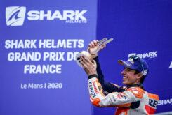 Alex Marquez podio MotoGP Le Mans 2020 (4)