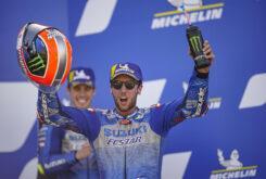 Alex Rins Suzuki MotoGP Aragon 20206
