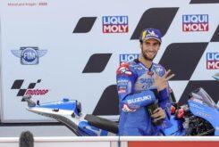 Alex Rins tercero GP Teruel MotorLand Aragon