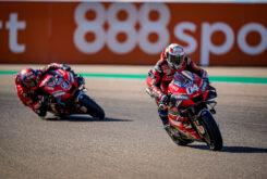 Andrea Dovizioso Danilo Petrucci MotoGP Aragon 2020