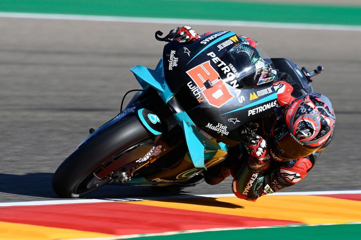 Fabio Quartararo pole MotoGP Aragon 2020