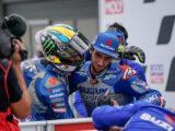 Joan Mir Alex Rins podio MotoGP GP Teruel 2020
