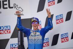 MBKJoan Mir podio MotoGP Teruel