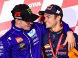 Maverick Vinales Dani Pedrosa MotoGP Valencia 2018