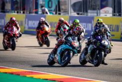 Salida MotoGP Aragon 2020 (2)