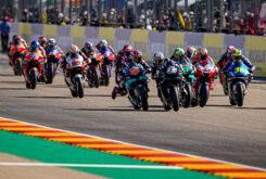 Salida MotoGP Aragon 2020