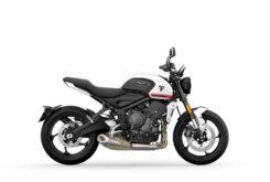 Triumph Trident 2021 colores Crystal WhiteRHS