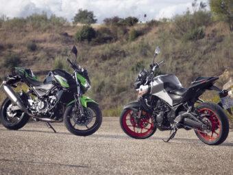 Yamaha MT 03 2020 vs Kawasaki Z400 2020 detalles1