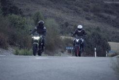 Yamaha MT 03 2020 vs Kawasaki Z400 2020 prueba 16