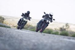 Yamaha MT 03 2020 vs Kawasaki Z400 2020 prueba 3